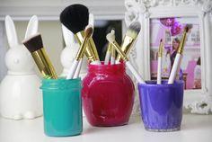Faça você mesma: porta pincéis de maquiagem (D.I.Y.) » Coisas de Diva