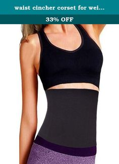 waist cincher corset for weight loss corset belt waist hot sweat shapers for women belt shapewear for women corset underwear kids girls underbust corset (S, Black). 1. [Materials]: Comfortable seamless Spandex with 4 steel bone. Hand Wash for best results. Material will stretch a little after use making it more comfortable. 2. STEEL FLEXIBLE BONING for extra support prevents garment from rolling up or down and bends with your body to prevent poking into skin. 3. Wasit training cincher is…