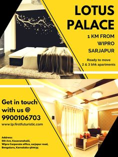 Search for flats for sale in sarjapur road. 2 and 3 BHK Premium Apartments in Sarjapur road.Location: Walk from Wipro Corporate Office, Sarjapur Road, Bangalore Flats For Sale, Buckingham Palace, Apartments, Lotus, Passion, Life, Lotus Flower, Lily, Flats
