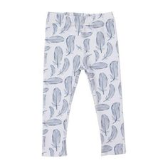 Feathered Jersey Leggings Fashion Forward, Organic Cotton, Pajama Pants, Leggings, Clothes, Baby, In Trend, Outfits, Clothing