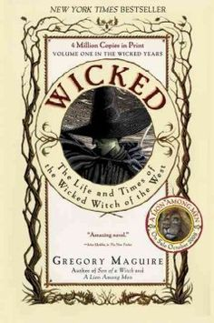 """Read """"Wicked Life and Times of the Wicked Witch of the West"""" by Gregory Maguire available from Rakuten Kobo. This is the book that started it all! The basis for the smash hit Tony Award-winning Broadway musical, Gregory Maguire's. Love Reading, Reading Lists, Gregory Maguire, Books To Read, My Books, Wicked Witch, Cursed Child Book, Great Books, So Little Time"""