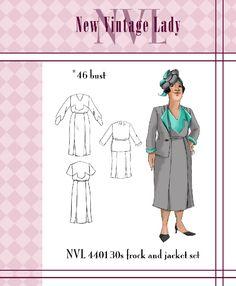 1930s Woman's Deco Suit
