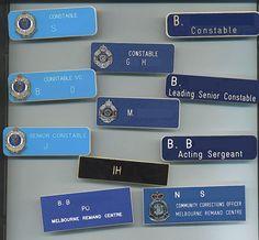 Police Badges, Image