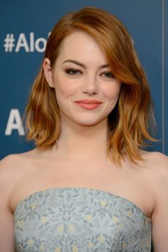 We Want Emma Stone's 'Aloha' Premiere Lipstick More