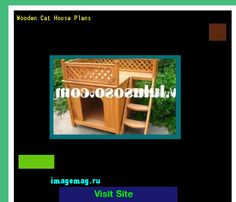Wooden Cat House Plans 073736 - The Best Image Search