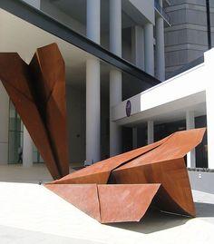 File: Art in Public Space - Paper Airplanes, 237 Adelaide Tce, Perth.jpg The topics within Cob House Plans, Airplane Art, Arte Popular, Public Art, Urban Art, Installation Art, Metal Artwork, Sculpture Art, Garden Sculpture