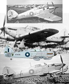 Although Australian squadrons flew the Hurricane in the Middle East, only one of the type ever reached Australia itself and this was Mk.I,V7476, which originally arrived wearing standard Dark Earth and Dark Green colours with Sky Blue undersides. This scheme was eventually overpainted with silver finish seen her complete with Blue and White RAAF roundels and although it was allocated the Australian serial A60-1, this was never applied. The Hurricane is seen here at RAAF Point Cook in a…