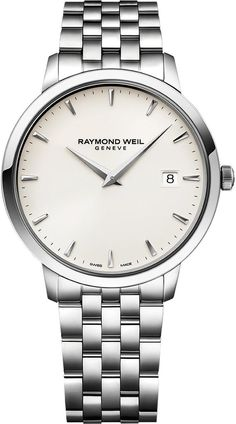 Raymond Weil Watch Toccata Mens Watch available to buy online from with free UK delivery. Simple Watches, Modern Watches, Luxury Watches, Rolex Watches, Watches For Men, Raymond Weil, Metal Bracelets, Elegant, Quartz Watch