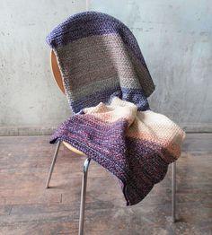 Striped Knit Throw Blanket   Home Decor   Relais Knitware   Scoutmob Shoppe   Product Detail