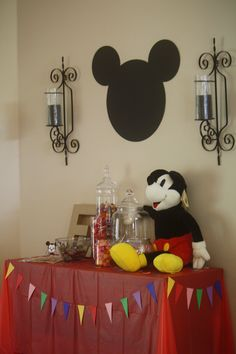 Mickey Mouse Clubhouse Party - Candy Bar