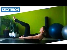 Esercizi di Pilates #sportacasa | Decathlon Italia - YouTube Pilates, Decathlon, Ale, Health Fitness, Exercise, Yoga, Workout, Ring, Sports