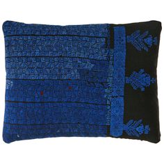 Needlework Bedouin Pillow | From a unique collection of antique and modern pillows and throws at https://www.1stdibs.com/furniture/more-furniture-collectibles/pillows-throws/