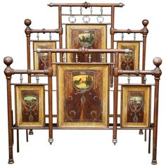 Art Nouveau Bed | From a unique collection of antique and modern beds at http://www.1stdibs.com/furniture/more-furniture-collectibles/beds/