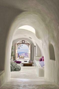 Perivolas Oia Santorin Hotel luxe des vacances parfaites decodesign / Décoration