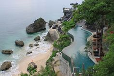 Ayana Resort, Bali Ayana Resort Bali, Resort Spa, Beautiful Pools, Beautiful Places, Infinity Pool Bali, Butterflies In My Stomach, Jimbaran, All Over The World, Cool Pictures