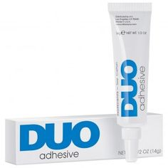 DUO Wimpernkleber transparent / weiß