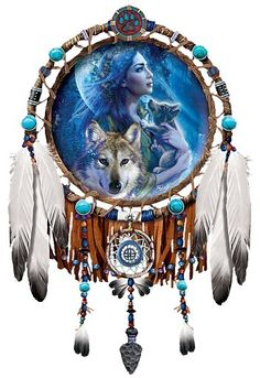 native american art | Second Life Marketplace - Wall Art - Native American - Moonlight