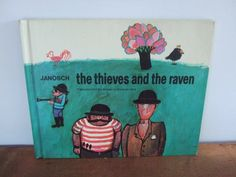 Vintage The Thieves and the Raven Janosch Book by jessamyjay on Etsy