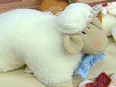 Almofada de ovelhinha!   Artesanato & Humor de Mulher