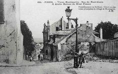 Paris 18ème et Montmartre en vieilles photos