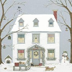 Christmas House by Sally Swannell