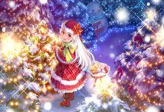 Anime Christmas Wallpaper.Pinterest