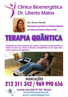 CONSULTA DE MEDICINA QUÂNTICA Receba um diagnóstico completo da sua condição energética! Mais informações em http://clinicaacupuntura.pt/pt
