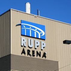 Rupp Arena, Lexington, Kentucky...where we went last wknd for a concert....sorry UK fans but the outside of this arena looks like crap!!!