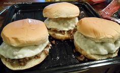 Southern With A Twist: Cheesesteak ~ Style Sloppy Joes