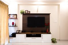 HomeLane: Full Home Interior Design Solutions, Get Instant Quotes. Beautiful Houses Interior, Beautiful Interiors, 2bhk House Plan, Tv Unit Design, Free Interior Design, Wardrobe Design, Living Room Designs, The Unit, House Design