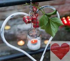 Lanterna Cuore per esterni di RomantikPony su Etsy, €20.00