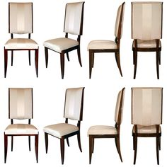 set of 6 art deco dining chairs art deco dining furniture