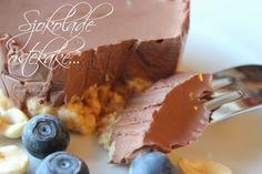 Mat for sjelen. Brownie Cake, Brownies, Lchf, Sugar Cookies, Sugar Free, Healthy Recipes, Healthy Food, Cereal, Gluten Free