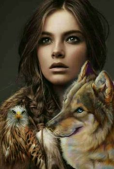 Fantasy Wolf, Fantasy Art, Dances With Wolves, Drawing Sketches, Drawings, Face Images, Pictures To Draw, Art Girl, Animal Pictures