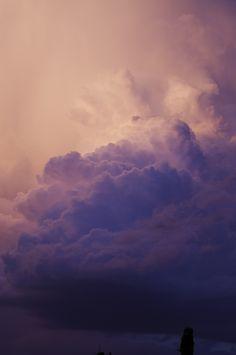 take photos of clouds, print + frame.