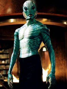 Abe Sapien from the Hellboy series - one of my favorite characters, along with Hellboy himself!