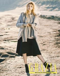 """After School's Nana Shows Impecable Style in Her Desert Shoot with """"Grazia"""" 