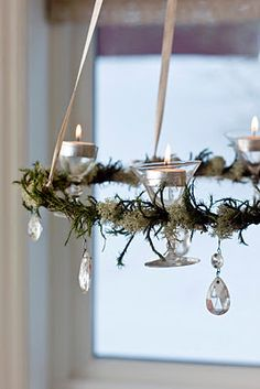 {The Dandelion Chronicles}: Advent Wreaths 2012