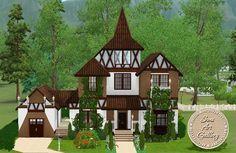 Little witch house http://www.sims-artgallery.net/en/gallery/sims-3/lots/residential-lots/small/1713/