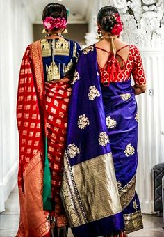 Traditional sarees in glam avatar.