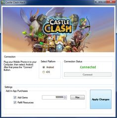 10 Best Castle Clash Hack Tool Ideas Castle Clash Hack Castle Clash Castle