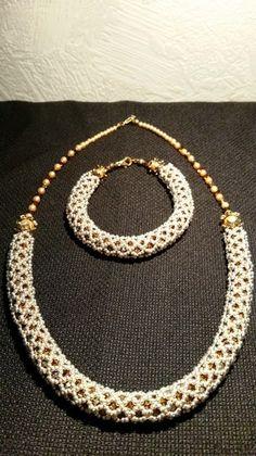 """Parure """"collier et bracelet"""" en cristal swarovski de Les Bijoux de Vitine sur DaWanda.com"""