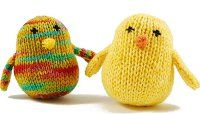 This free knitting pattern is sure to steal your hear the moment you see it.  Make your own Chubby Chirps to decorate the house for Easter, spring or just because!