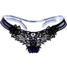 Das mulheres Sexy Lingerie calcinhas roupa interior chinês bordados cadeia G Briefs calcinha fio dental malha Plus Size(China (Mainland))