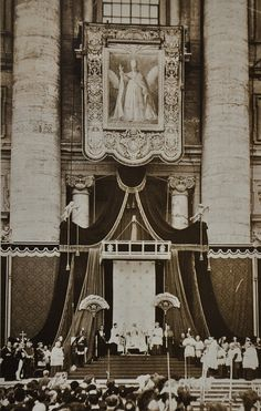 Canonization of Pope Pius X in 1954