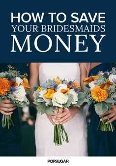 From attire to travel to gifts and favors, your wedding can be a major investment for your bridesmaids. Standing up as part of the bridal party means tons of extra expenses, so it's smart to step back and see how you can keep costs low for your friends. Hoping to help them out by minimizing expenses? Here are seven simple, thoughtful ways to make your wedding festivities more budget friendly for your bridesmaids.