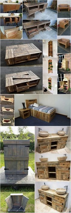 Cheap and Easy Wood Pallet Recycling Ideas