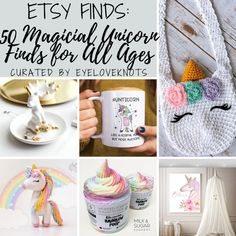 Etsy Finds: 50 Magical Unicorn Finds for Girls of All Ages curated by EyeLoveKnots Unicorn Jewelry, Unicorn Necklace, Unicorn Headband, Unicorn Hair, Unicorn Poster, Unicorn Wall Art, Unicorn Balloon, Unicorn Birthday, Unicorn Party