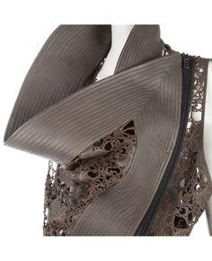 Leather waist coat: take 2