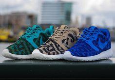 A Brand New Jacquard Print Appears On The Nike Roshe Run - SneakerNews.com